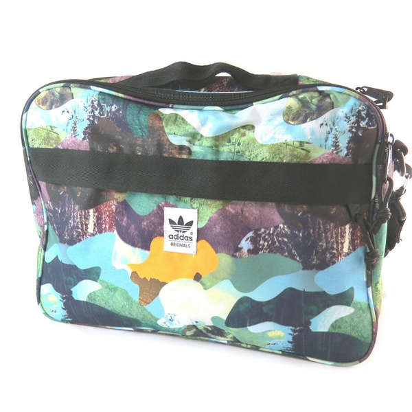 4e8aec7a08 Wish | Adidas [N9058] - Sac bandouliere 'Adidas' multicolore (2  compartiments) - 38x28x10 cm | Shoulder bag 'Adidas' multicolored (2  compartments)- 38x28x10 ...