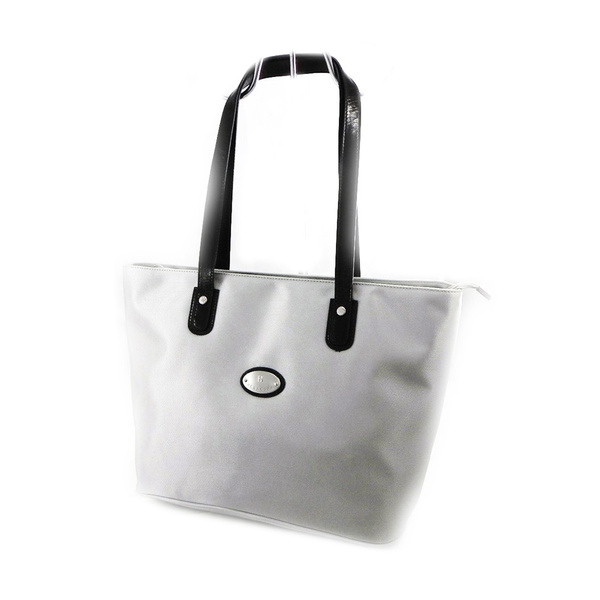 Hexagona [I7630] Sac shopper 'Hexagona' gris clair | Shopper bag 'Hexagona' light gray. | Shopper tasche 'Hexagona' hellgrau.
