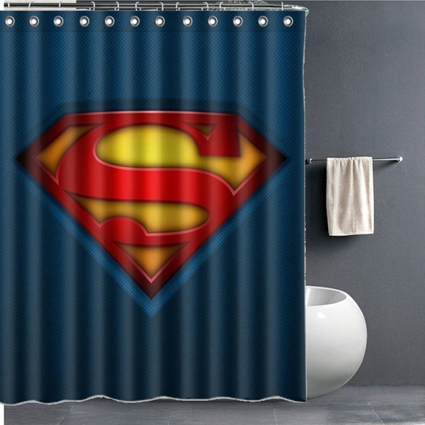 Shower Curtain Cartoon Bathroom Decor