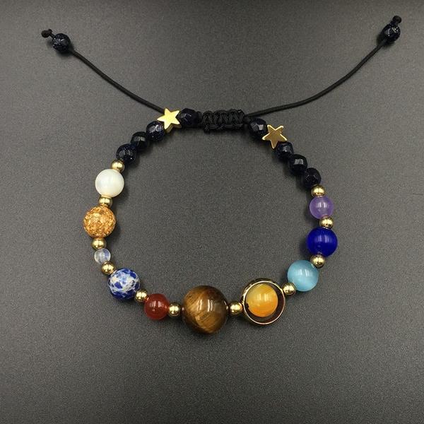 Solar System Bracelet Universe Galaxy The Eight Planet Guardian Star Bracelets