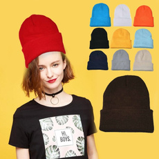 Hip Hop, Warm Hat, beanies hat, mensknithat