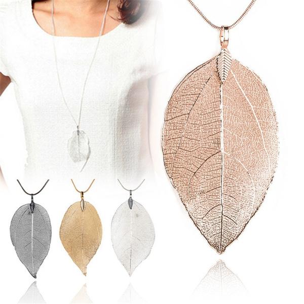 Fashion, leaf, Jewelry, bijouxwomen