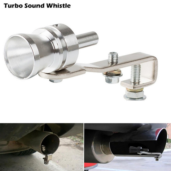 Fashion Car Exhaust Pipe Blowoff Valve Simulator Turbo Sound Whistle