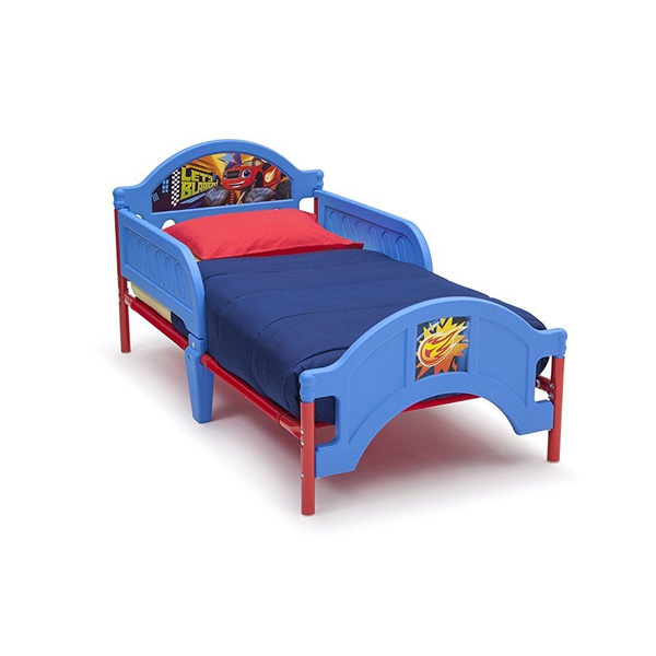 Swell Delta Children Plastic Toddler Bed Nick Jr Blaze The Monster Machines Dailytribune Chair Design For Home Dailytribuneorg