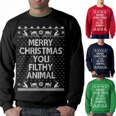 Fashion, Christmas, Sleeve, Long Sleeve