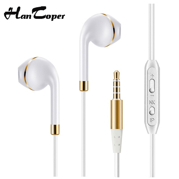 ea0450369d0 New Headphones For Xiaomi Earpod with mic earphone earbuds For iphone 6 4 5s  Samsung fone de ouvido auriculares headset Y8 | Wish