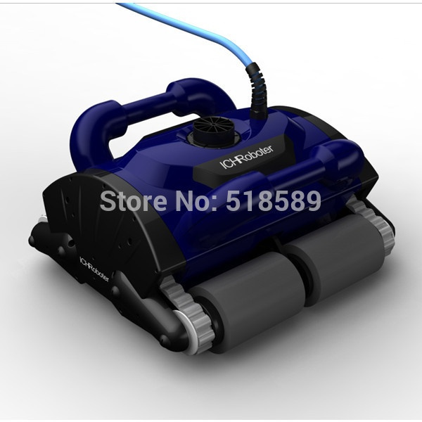 robotic pool cleaner with 30m cable,swimming pool robot vacuum  cleaner,swimming pool cleaning equipment with caddy cart ce rohs