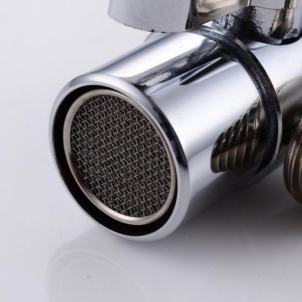 Kitchen Faucet Splitter   Wish Brass Sink Valve Diverter Faucet Splitter For Kitchen Or