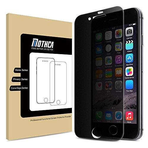more photos 0e05c eacfa iPhone 8 Plus / iPhone 7 Plus Screen Protector, Mothca iPhone 8 Plus/7 Plus  Matte Privacy Screen Protector Full Screen Tempered Glass Anti-spy ...