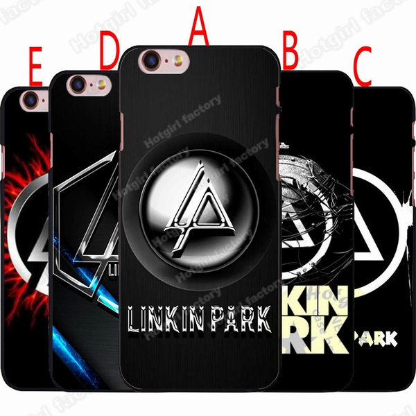 Linkin Park Phone Case Design Lp Logo Wallpaper Hard Plastics Case Cover For Iphone Samsung Huawei 5 Styles