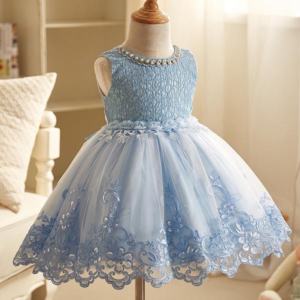 Wish | Toddler Baby Girl Princess tutu Dress Flower Lace Princess ...