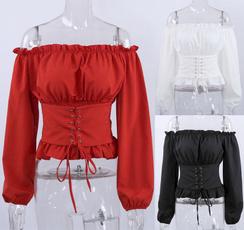 blouse, Fashion, Shirt, Corset