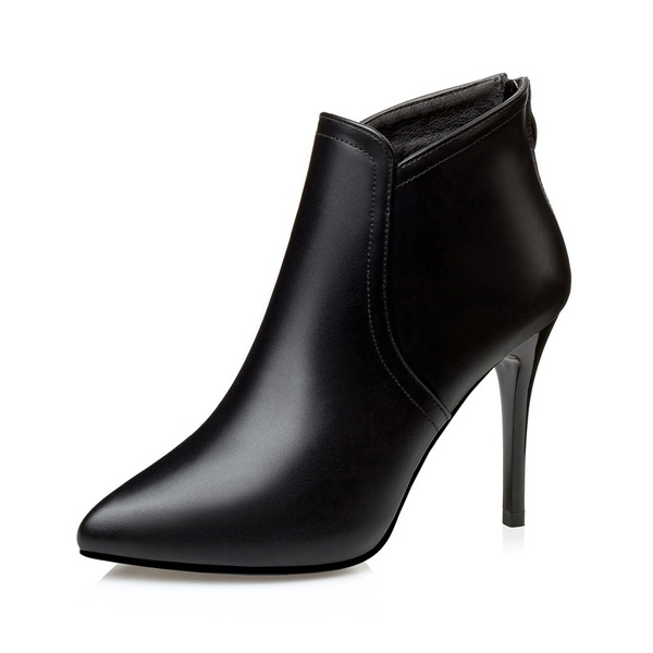 Nude short women high heels