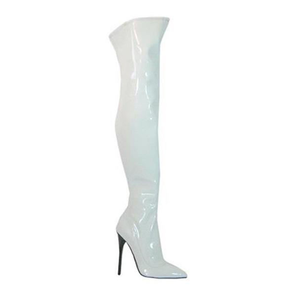 b5d3dd73ff4 Wish   Highest Heel SKY-31-SM-WPST-7 5 in. Thigh High Stretch Patent ...