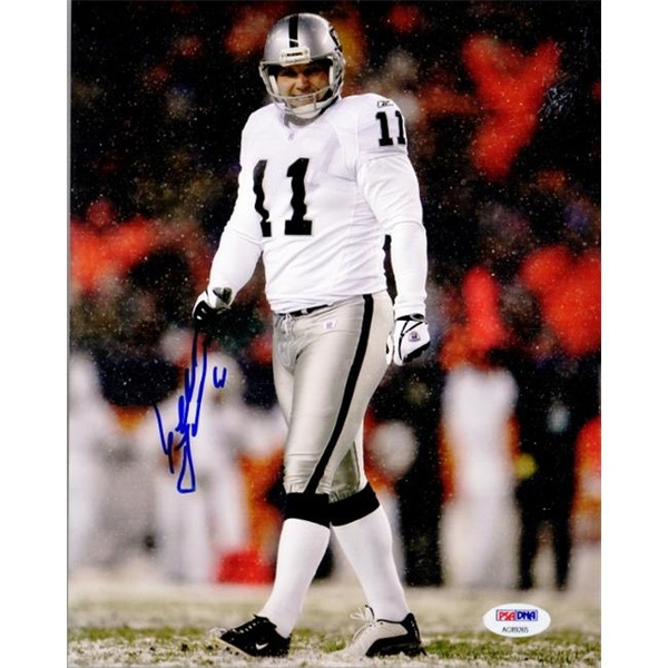buy online 12f35 2c19e Real Deal Memorabilia SJanikowski8x10-10-PSA Sebastian Janikowski Signed -  Autographed Oakland Raiders 8 x 10 in. Photo - No.10 PSA & DNA Certificate  ...