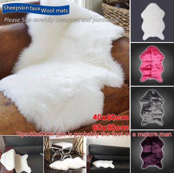 Super Soft Washable Faux Shiny