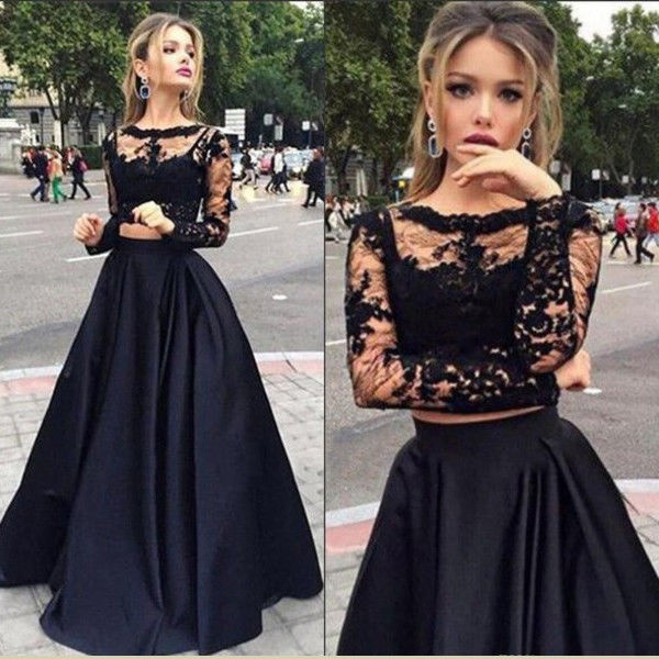 Prom Cocktail Maxi Sexy Party Long Dress 2pcs Women Formal Evening W9IEDH2Y