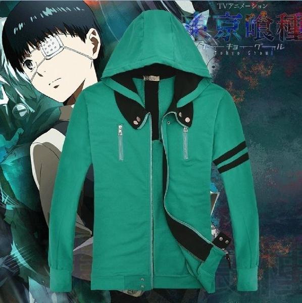 Anime Tokyo Ghoul Kaneki Ken Jacket Coat Cosplay Costume Unisex