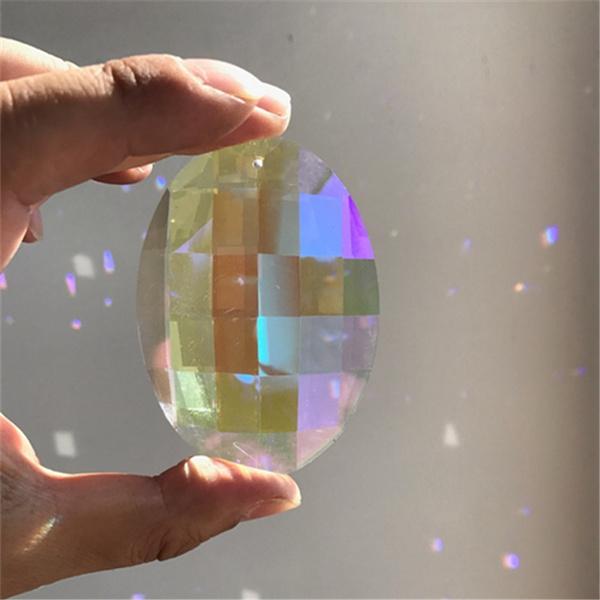 rainbow, crystal pendant, hangingornament, Jewelry