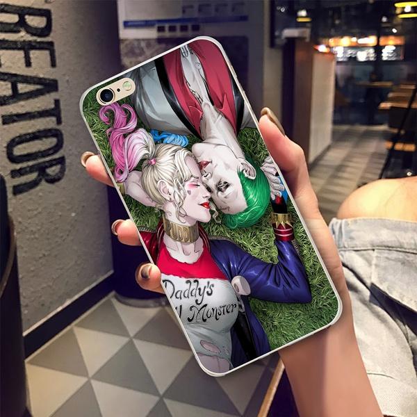 The Joker Love Harley Quinn Fashion Phone Case by Wish