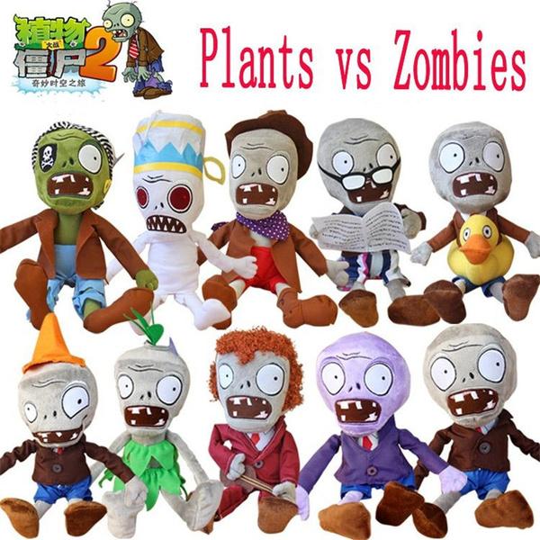 Plants VS  Zombies 2 12'' 30cm 50cm Gargantuar PP Plush Toys Soft Stuffed  Zombie PVZ Toys