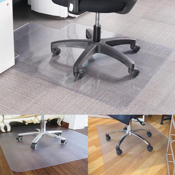 Non Slip Home Office Chair Desk Mat Floor Protector Pvc Plastic