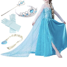 snowqueendre, elsa dress, Cosplay, Princess