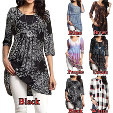 blouse, Plus Size, tunic, Waist