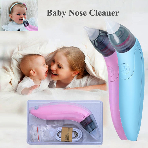 Electric Automatic Portable Nose Cleaner Baby Nasal Aspirator
