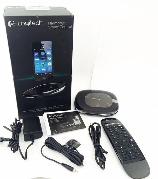 Logitech Harmony Smart Control Bluetooth Hub + Remote for iPhone, iPad,  Android 915-000194 (Refurbished)