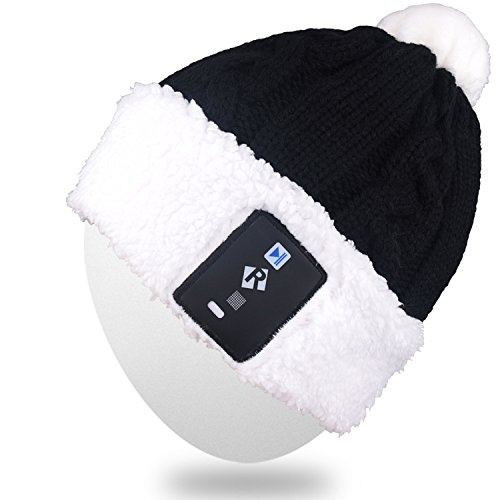 6728c28f3 Rotibox Stylish LED Bulb Light Up Beanie Hat Knit Cap Pom Pom Twinkle  Lights for Kids Indoor and Outdoor, Festival, Holiday, Celebration,  Parties, ...