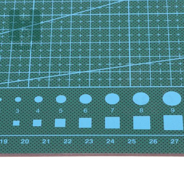 Homyl A4 Pvc Estera De Corte A Doble Cara Rejilla Impresa Estructura Antideslizante