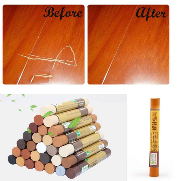 28 Color Furniture Repair Markers And Wax Sticks Paint Crayons Crayon Wooden Floor