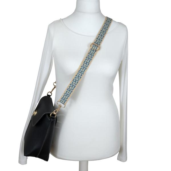 Stilvoller Crossover Schultergurt mit Karo Muster Tragetaschen und Handtaschen 60-120 cm BENAVA Taschengurt Verstellbar Zubeh/ör f/ür alle Schultertaschen BOHO Tragegurt