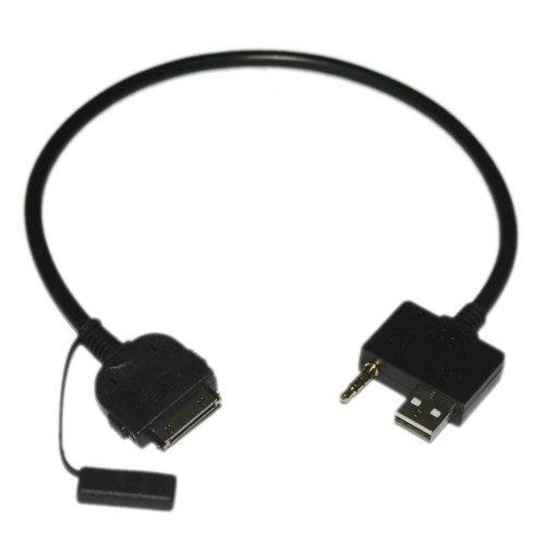 USB & 3 5mm AUX iPod iPhone iPad Cable for Hyundai Accent Azera Elantra  Genesis Coupe H1 Santa Fe Sonata Tucson Veracruz I10 I20 I30 I40 I80 Lead  Cord
