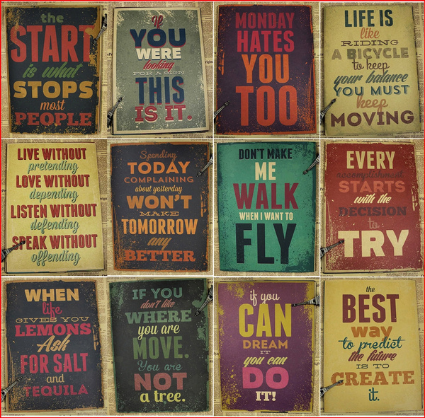 classicposter, wallartposter, Office, Quotes