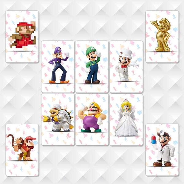 22Pcs Legend Of Zelda 11 Pcs Splatoon 2 NFC Tag 10Pcs/Set Super Mario  Odyssey Amiibo NFC Cards and 20 Pcs Mario Kart 8 Deluxe Amiibo NFC Card Tag  +