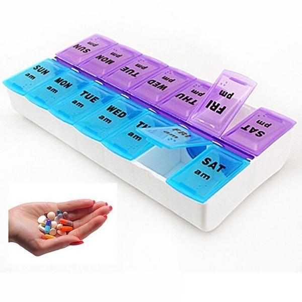 Box, case, medicinetabletbox, portable