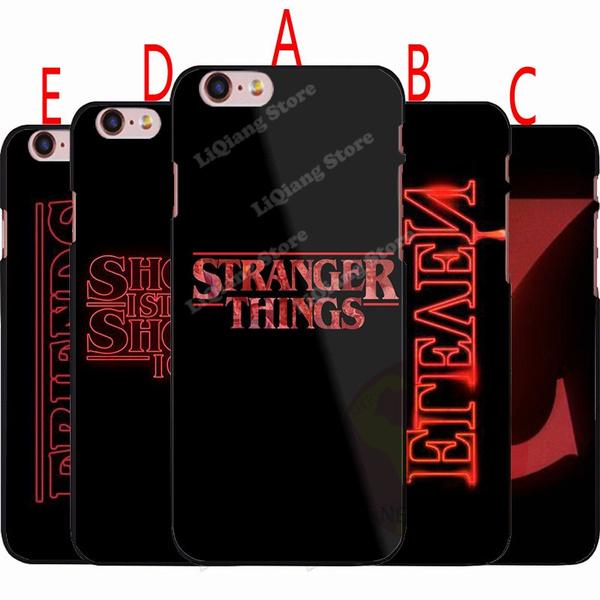 watch c5853 b876c Stranger Things Phone Case,Design Stranger Things Logo Hard Plastics Case  Cover for Iphone/Samsung/Huawei(5 Styles)