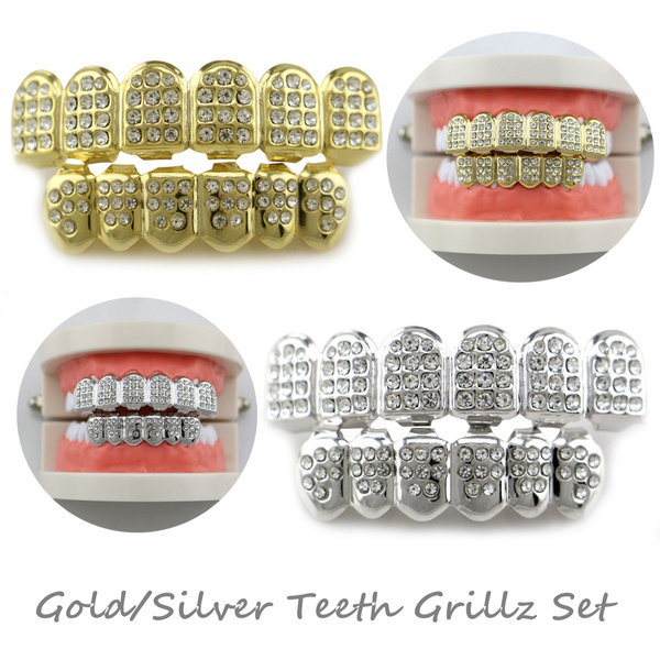goldplated, Grill, Fashion, Jewelry