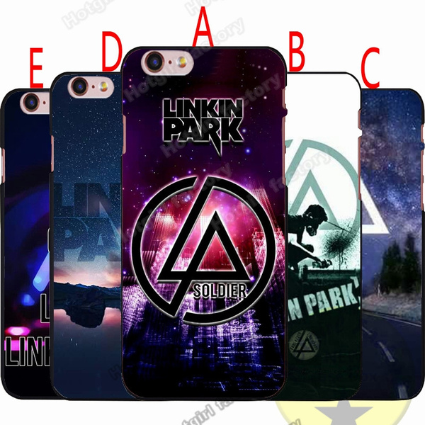 Linkin Park Phone Case Design Linkin Park Wallpapers Hard Plastics Case Cover For Iphone Samsung Huawei 5 Styles