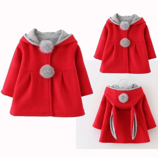 Manteau chaud fille 7 ans
