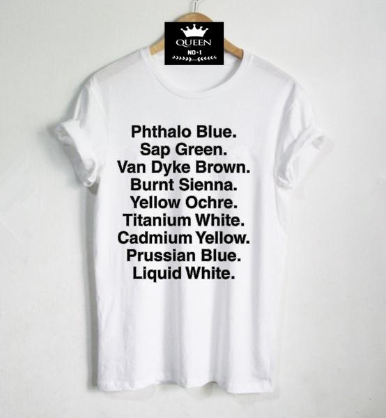 c947bb0bd Bob Ross Shirt Happy Trees Letter Print Women Tshirts Cotton Casual ...