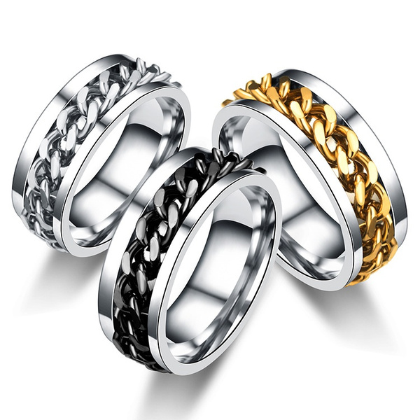 Steel, ringsformen, Fashion, Jewelry