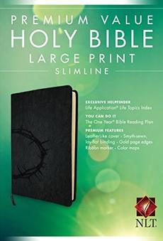 bible, premium, nlt, crown