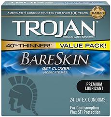 count, trojan, lubricated, condom