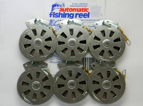 Yo 6 Mechanical Fisher Yoyo Fishing Reels Flat Trigger Model Stainless Steel