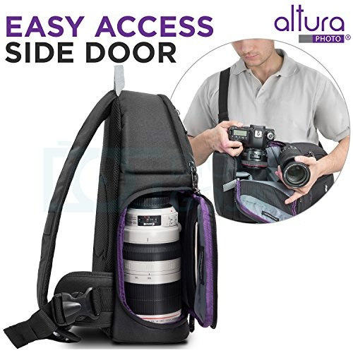 Wish Altura Photo Camera Sling Backpack For Dslr And Mirrorless