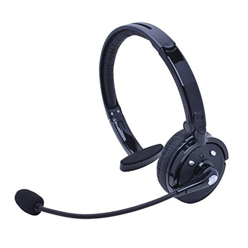 Wireless Truck Driver Bluetooth Headset With Boom Microphone Stardrift Over The Head Foldable One Ear Headphones Multipoint Noise Cancelling Hands Free For Office Iphone Samsung Android Phones Wish