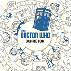 Doctor Who, coloring, Book, Who